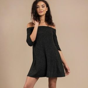 Tobi Olly Black Shift Dress